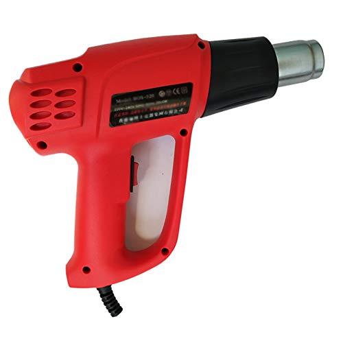 HeegNPD Heteluchtpistool, lange levensduur, 2000 W, thermostaat, twee hoge temperaturen, bakpistool, industriële kwaliteit, haardroger, digitaal display