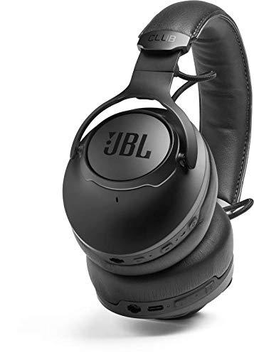JBL CLUB ONE Cuffie Over-Ear Wireless Bluetooth, Cuffia pieghevole senza fili con Microfono, Cancellazione del Rumore Adattiva, Alexa e Assistente Google, Fino a 45h di autonomia, Colore Nero