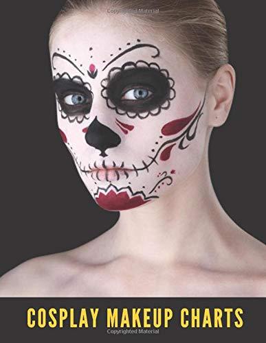 Cosplay Makeup Charts: Cosplay Makeup Kit, Makeup Charts to Brainstorm Ideas and Practice Your Cosplay Make-up Looks, Clown Makeup