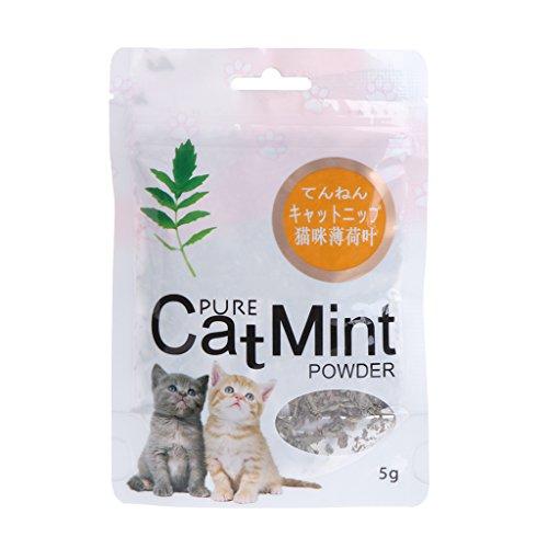 Yanhonin Catnip - Bola de hierba para gatos, catario, orgánica, para masticar para gatos, para mascotas, juguete