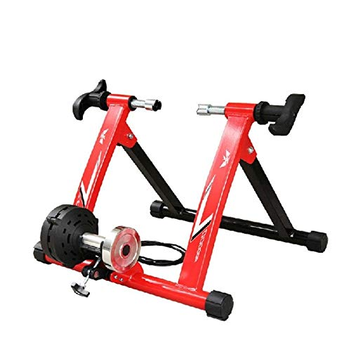 Rindasr Wire Control Cycling Platform Pedal Indoor Reluctance Bike Cycling Platform Wired/Wireless Bicycle Turbo Trainer Portable Mountain Bike Sports Fitness Equipment Cycling Platform Trainer