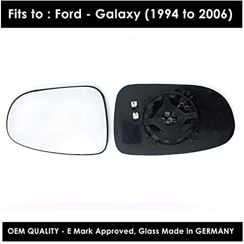 BMW M5 2005-2010 Droit Chauffeur Grand Angle Wing mirror glass