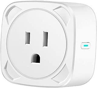 Samoii Intelligent Device Smart Outlet WiFi Power Socket Plug Switch for Amazon Alexa/Google Home App Control US