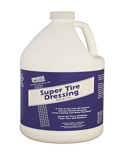 Granitize T-7 Auto Super Tire Dressing - Rubber-Plastic - 1 Gallon