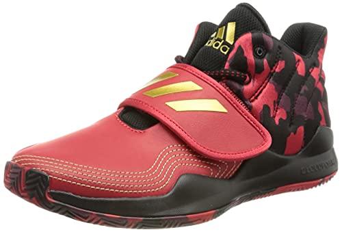 adidas Deep Threat J,  Zapatillas Unisex Adulto,  Escarl Dormet Negbás,  39 1/3 EU