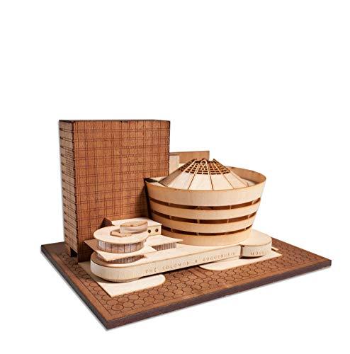 Guggenheim Museum Scale Replica kit from Model Landmarks, Finished Model 6'x4.5'x3.5'. Midcentury...