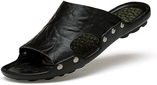 Xing lin Sandales Pour Hommes Chaussons Homme Sandales D'été Glissé Les Tongs Sandales Antidérapantes Pour Hommes Tendance Chaussons