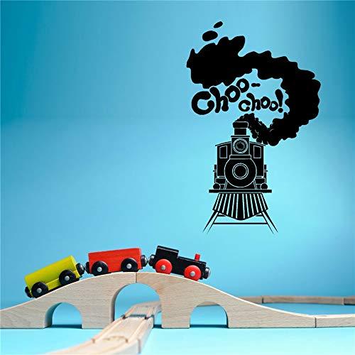 Cricket Wandaufkleber Indien Zug Dampfauto Motor Kinderzimmer Wohnzimmer Schlafzimmer DIY Wandaufkleber Vinyl 58x93 cm
