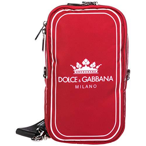 Dolce&Gabbana herren - Umhängetasche milano rosso