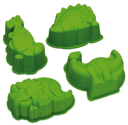 Kitchen Craft Let's Make Kitsch n Fun Backform, Design: Dinosaurier, Silikon