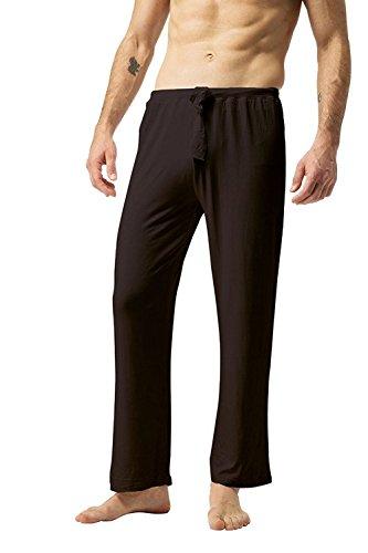 ZSHOW Pantalones de Yoga para Hombre de Algodón Pantalones