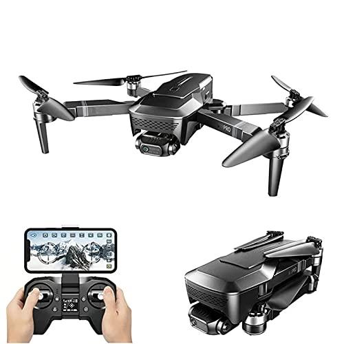 4K Drone HD Camera 2 Assi Gimbal WiFi FPV GPS 5G 1KM Distanza Droni Professionali Quadcopter Pieghevole Senza spazzole, 1 Batteria
