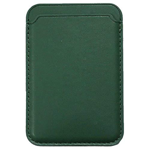 3Ciker Étui portefeuille en cuir magnétique pour Apple iPhone 12/12 Mini, 12 Pro, 12 Pro Max avec porte-cartes MagSafe RFID pour iPhone 12/12 Mini, 12 Pro, 12 Pro Max (vert)