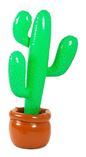 Folat 20571 Aufblasbarer Kaktus Grün