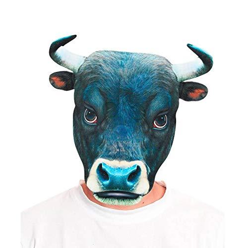 Máscara Toro 2D - Animales Carnaval