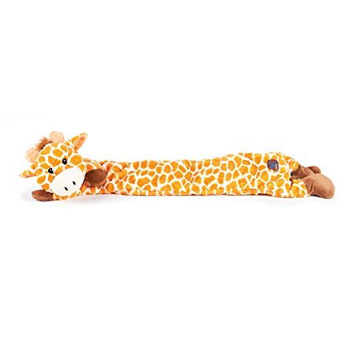 Charming Pet Longidudes Giraffe Plush & Squeaky Dog Tug Toy