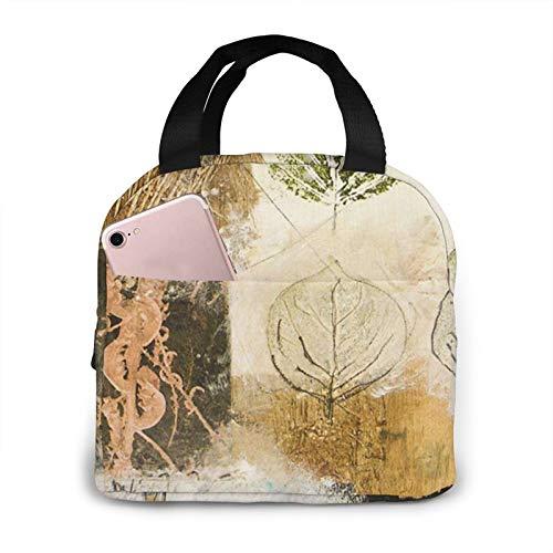 OMQFEW Lunchtasche Lunchbag für Damen/Kinder, Kühltasche Lunch Tasche Picknicktasche Isoliertasche Thermotasche Zur Arbeit Schule Picknick Gemischte Medien