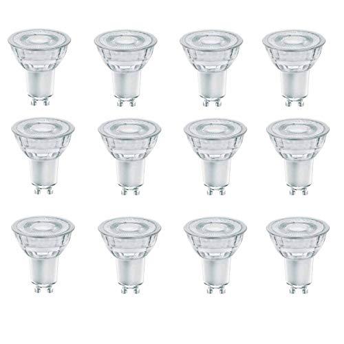 OSRAM LED SUPERSTAR GLAS PAR16 GU10 5,5W=50W 350lm warm weiß 2700K dim 90Ra 12er