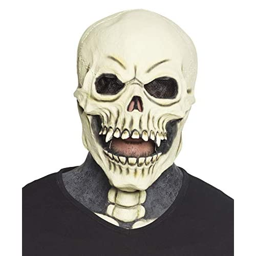 Boland 97572 - Maschera da Testa a Forma di Teschio, Multicolore