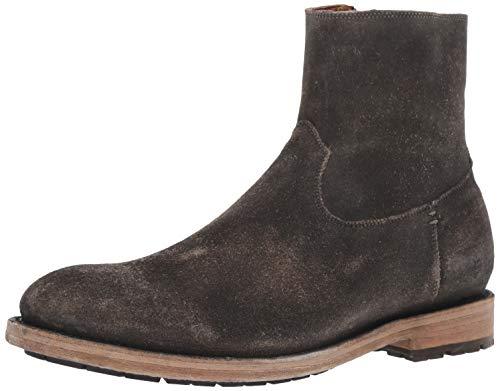 FRYE Men's Bowery Inside Zip Fashion Boot, faded black, 10 M Medium US