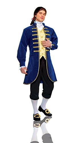 Costume Culture Men's Aristocrat Costume Extra Large, Blue, X-Large