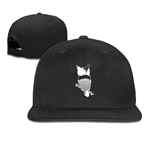 Ynjgqeo Baseball Cap-Twin Peaks Owl Black Cap Hats for Men Women Casual Hats Hip Hop Baseball Caps