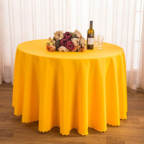 WHDJ Tablecloths Lace,Anti-Wrinkle Solid Color Table Cloth for Meeting,Restaurant,Hotel & Home,Not-Fade Durable Soft Table Cover