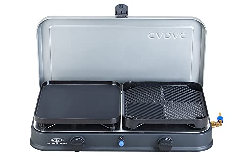 Cadac 2 Cook 2 PRO Deluxe QR Table Top Gas Barbecue Black