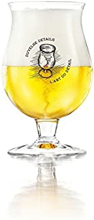 Duvel Belgian Beer Chalice Glass New 2019 Style