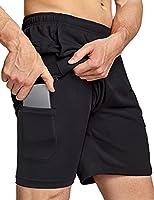 Deal on TSLA Men's Active Running Shorts