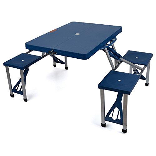 Generic Table CH Table Chaises Ghtwe léger ABS Couleur aléatoire américains C Table de Pique-Nique Mping Pliable Portable Camping ampérage Pi Ensemble de Salle à Manger Rtab