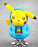 Juguete de pokemon Marea ropa Pikachu Deadpool figura Capitán América Naruto trajo suelo juguete...