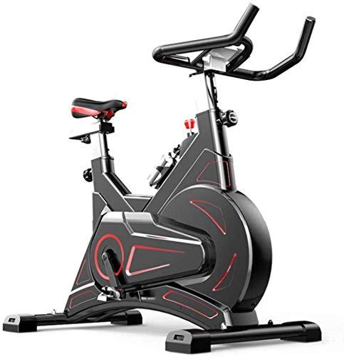 La bicicleta giratoria silenciosa de fitness es adecuada para interiores y hogares, gimnasio aeróbico, es muy adecuada para hombres y mujeres ciclos de estudio en interiores.