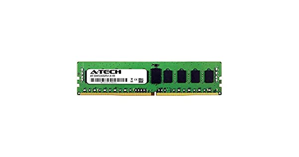 AT394554SRV-X1R10 DDR4 PC4-21300 2666Mhz ECC Registered RDIMM 2rx8 Server Memory Ram A-Tech 8GB Module for ASUS X99-M WS