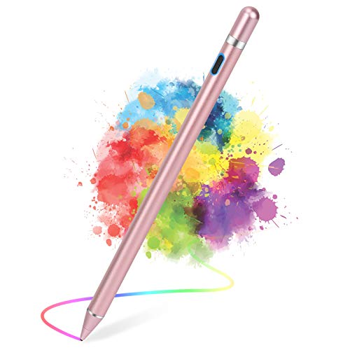 Active Stylus Pens for Touch Screens, Active Pencil Smart Digital Pens Fine Point Stylist Pen Compatible with iPhone iPad,Samsung/Android Smart Phone&Tablet Writing Drawing by maylofi