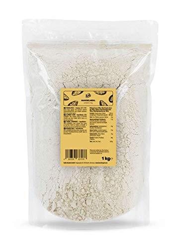 KoRo - Farina di mandorle 1 kg - farina 100% mandorle, senza zucchero e senza conservanti, farina proteica senza glutine, ricca di fibre e proteine, keto e low carb