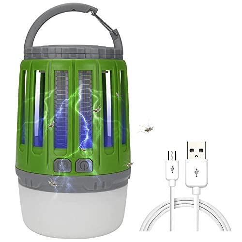 YYXT 3 en 1 Linterna Antimosquitos Eléctrica, lámpara Camping Antimosquitos con 3...