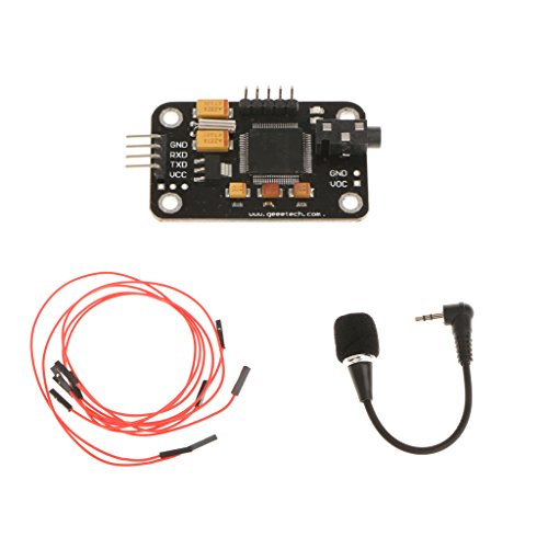 High Sensitivity Voice Recognition Module &Microphone &4Pin Wire for Arduino
