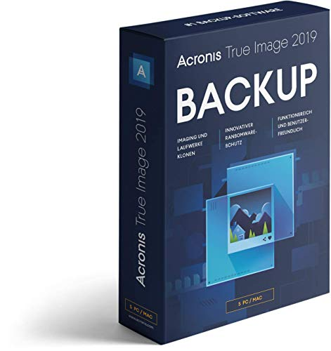 Acronis True Image 2019|5 PC|Mac