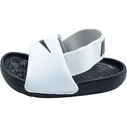 Nike Kawa, Zapatillas de Gimnasio, White/Black-Black-White, 19.5 EU
