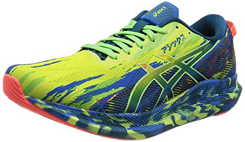 Asics Noosa Tri 13, Running Shoe Hombre, Glow Yellow/Bright Lime, 42.5 EU
