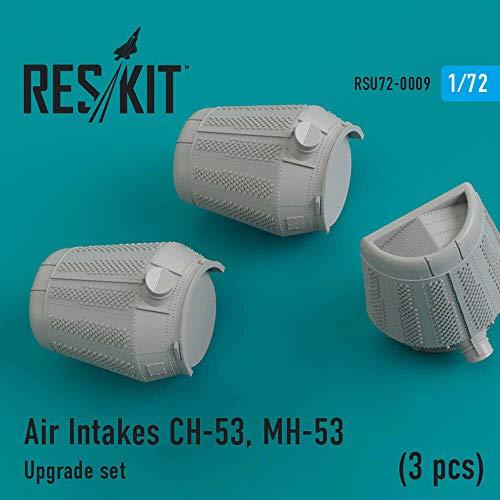 Reskit Air Intakes Sikorsky CH-53, MH-53 Aircraft Detailing Set RSU72-0009 1:72 Scale Model Kit