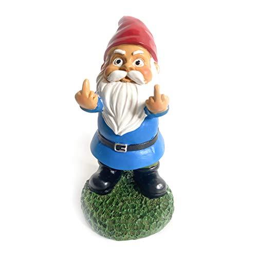 Elibeauty Garden Gnome Statue - Garden Gnome Ornaments Outdoor for...