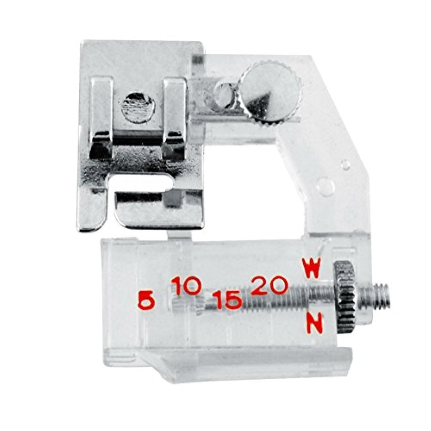 AKOAK Portable Adjustable Bias Binder Presser Foot Feet Kit for Sewing Machine Brother Singer Janome Juki Babylock Useful Home Supply bnfn682886062