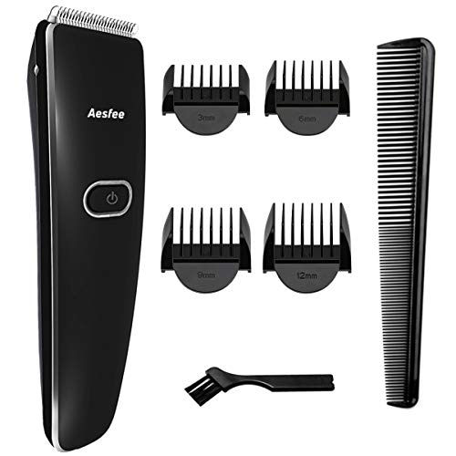 Haarschneider Herren Professionelle Haarschneidemaschine, Haarschneider-Set USB Wiederaufladbar Haartrimmer Elektrisch Bartschneider mit Schneidkopf aus Edelstahl für Männer, Familie