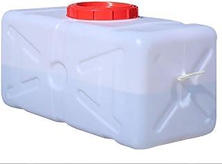 Seau en plastique blanc de qualité alimentaire, couvercle de réservoir de stockage de seau horizontal de qualité alimentai...
