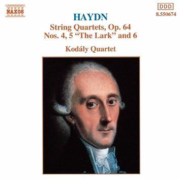 HAYDN: String Quartets Op. 64, Nos. 4 - 6