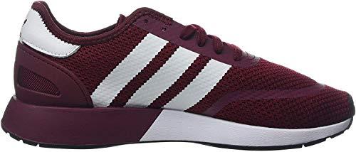 adidas Herren N-5923 Fitnessschuhe, Rot (Buruni/Ftwbla/Negbás 0), 44 2/3 EU