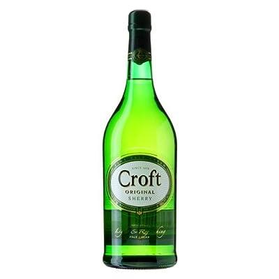 Croft Original Fine Pale Cream Sherry 70cl Bottle x 2 Pack