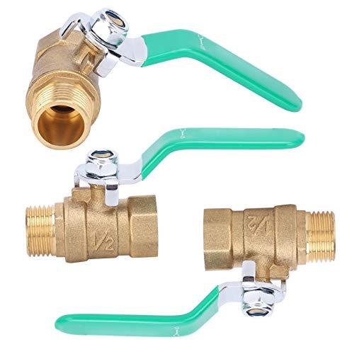 Interruptor de válvula de bola Válvula de bola Válvula de bola roscada para sistema de tubería de agua fría para sistema de tubería solar